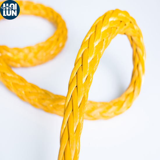 High Strength 12strand UHMWPE Core and Polyester Sheath Anchor Rope